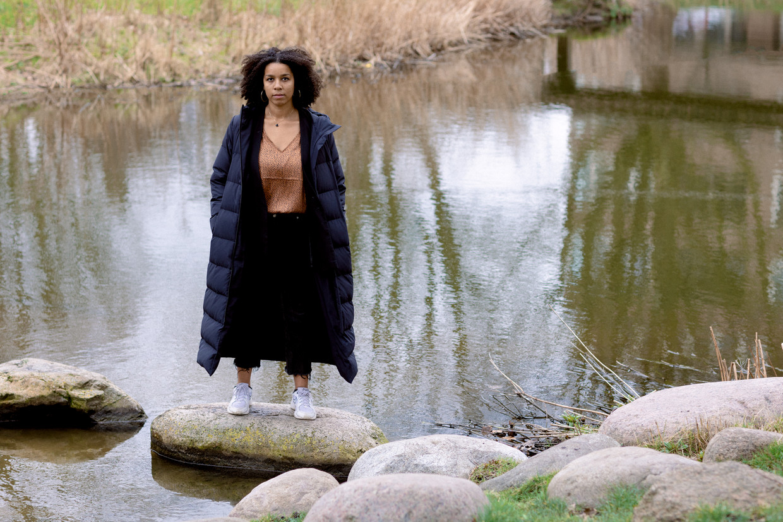 Simone Atangana Bekono:  Beeld Ines Vansteenkiste-Muylle