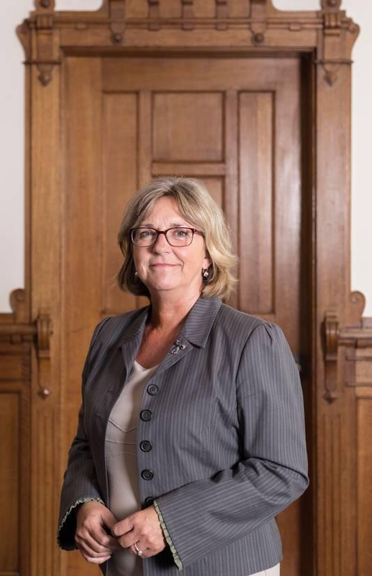 Burgemeester Ellen Nauta