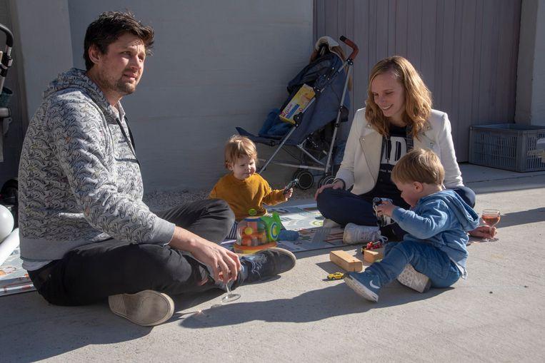 Op de Standaertsite werd de eerste Baby Fair georganiseerd met workshops en beurs voor jonge en toekomstige ouders.