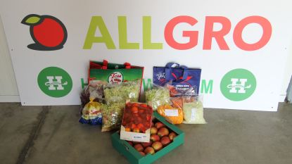 Allgro verkoopt groentepakketten voor goede doelen
