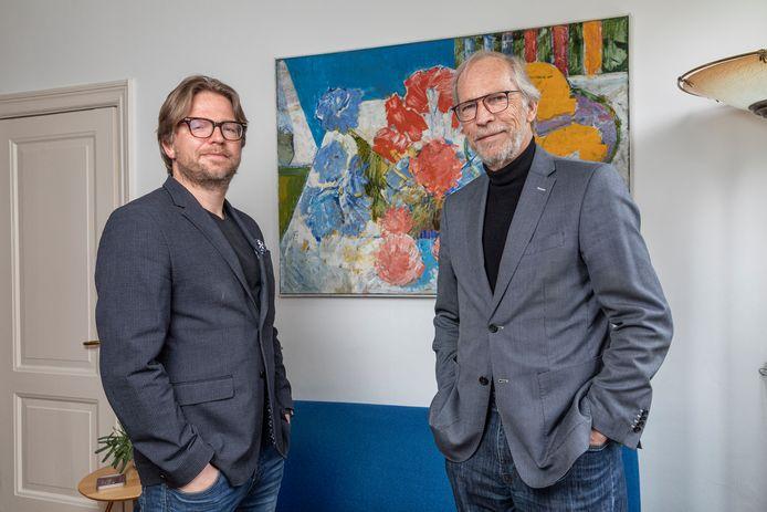 Voor Derek de Beurs (links) zijn de adviezen van zijn vader Paul een psychologische gereedschapskist.