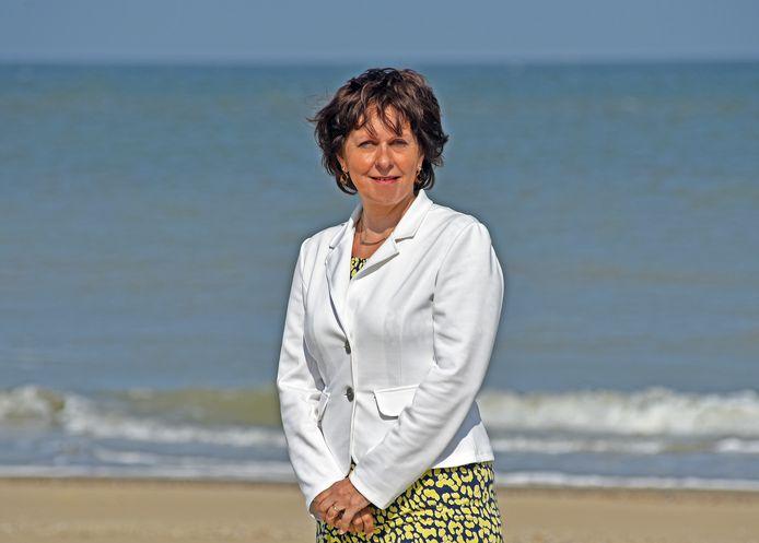 Marga Vermue , burgemeester Sluis