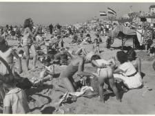 Ook de Haagse penoze zat graag op het strand van Scheveningen