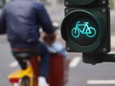 Proef met sneller groen licht voor fietsers in Wassenaar