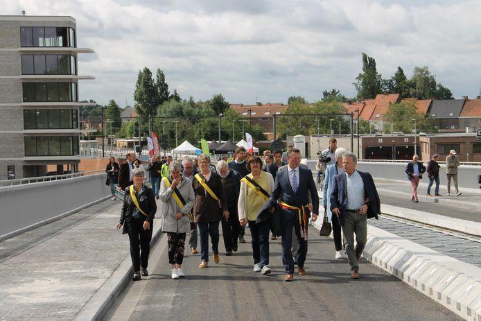 De Brigandsbrug werd plechtig ingewandeld.