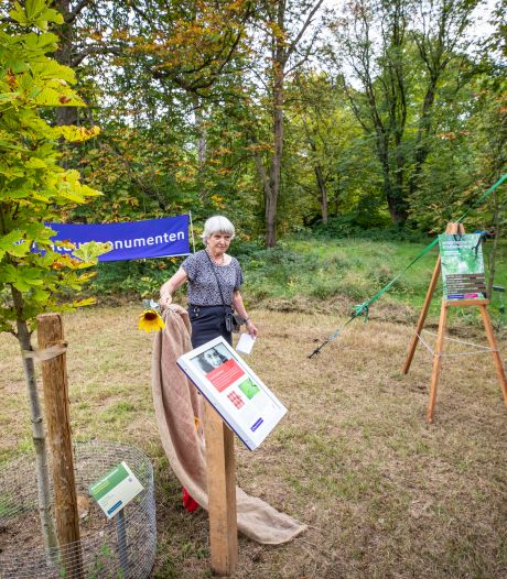 Anne Frankboom in Arboretum herinnert aan verzetsverhaal: 'Een piloot zat in de heg. Hij verstond ons niet'
