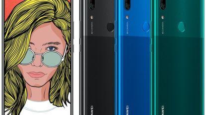 Renders tonen Huawei smartphone met groot scherm en pop-upcamera