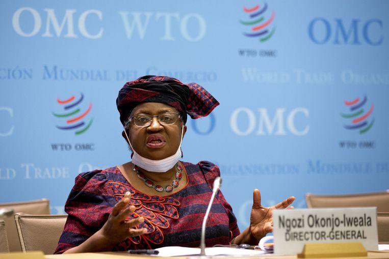 WTO-topvrouw Ngozi Okonjo-Iweala. Beeld EPA