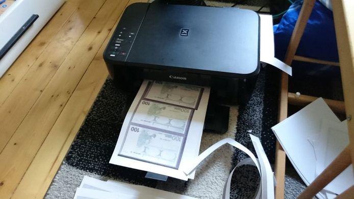 Nepgeld uit de printer