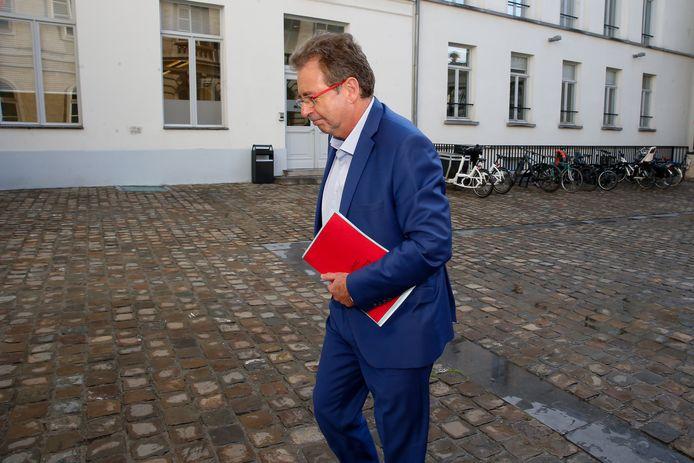 Rudi Vervoort, ministre-président bruxellois.