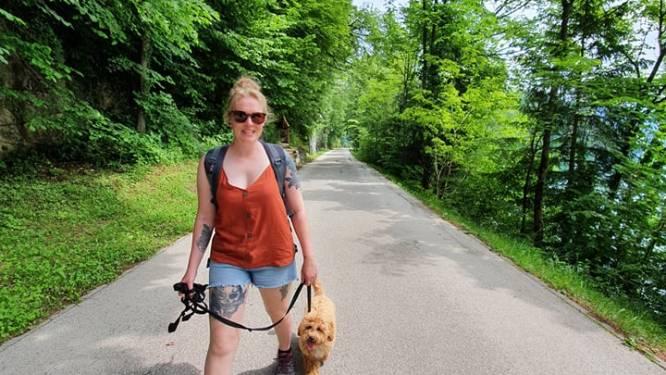 Sielke (30) stapt 101 kilometer voor het goede doel