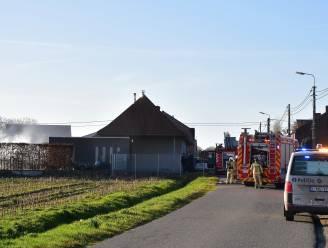 Houtopslagplaats uitgebrand, ook tuinhuis loopt schade op