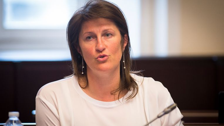 Minister van Mobiliteit Jacqueline Galant (MR). Beeld BELGA