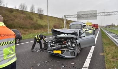Ongeval op A27 bij knooppunt Sint Annabosch
