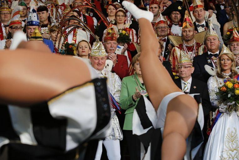 Angela Merkel. Beeld null