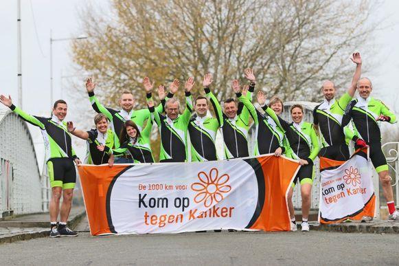 Hope4More uit Hamme neemt deel aan de 1.000 kilometer voor KOTK.