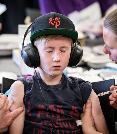Voor het eerst in vijf jaar zit vaccinatiegraad weer in de lift