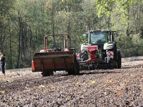 Zwaargewonde bij ongeluk met tractor in Heino