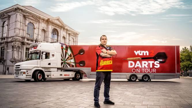 Dartstruck van VTM 2 houdt zondag halt in Sint-Niklaas