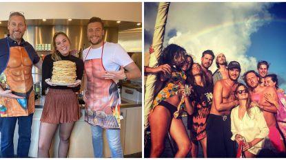 SHOWBITS. Sexy keukenschorten bij Gert & Viktor en Kevin Janssens heeft heimwee naar de zomer