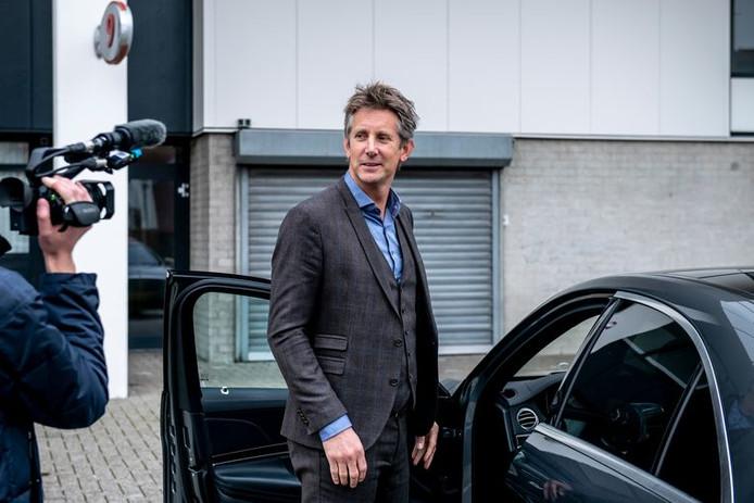 Illustration. Edwin van der Sar, le directeur général de l'Ajax.