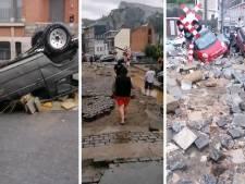"""Des dégâts conséquents à Dinant: """"Il n'y a plus de route"""""""