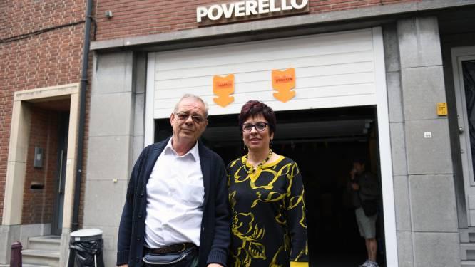 """De 'corona-armen'. Uitbaters voedselbedeling Poverello Leuven vrezen dat er compleet nieuwe groep hulpbehoevenden ontstaat: """"De rij wordt hier elke maand langer"""""""