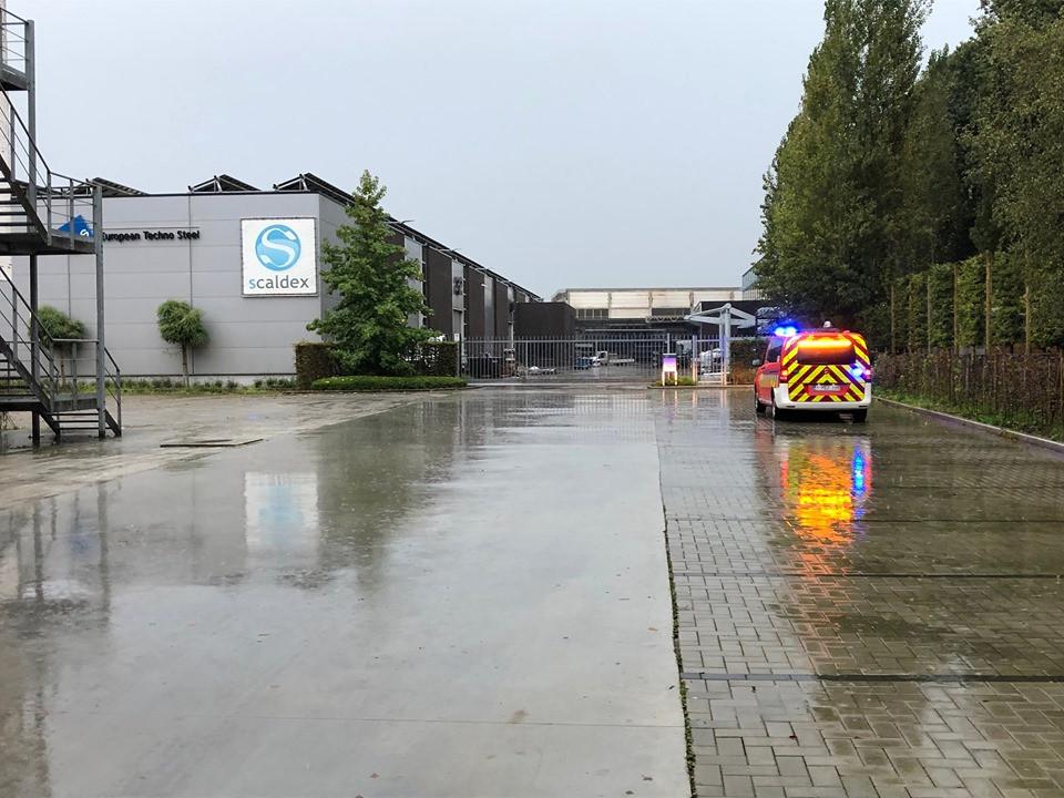 De brandweer kwam ter plaatse voor een controle.