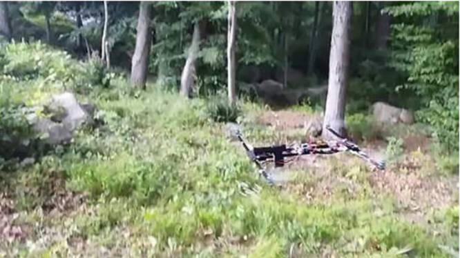 18-jarige bolleboos van schietende drone opgepakt
