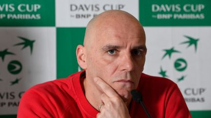 Davis Cup-kapitein Van Herck mist Goffin, Darcis en Bemelmans tegen Brazilië