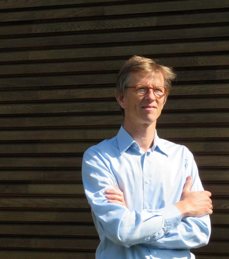 Professor Jan Vanhoof: 'Ik wil wat tegengewicht bieden aan de idee dat we er door corona dramatisch aan toe zijn.' Beeld