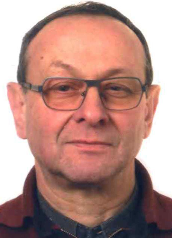 De vermiste Gilbert Verplancke (67) uit Koekelare.