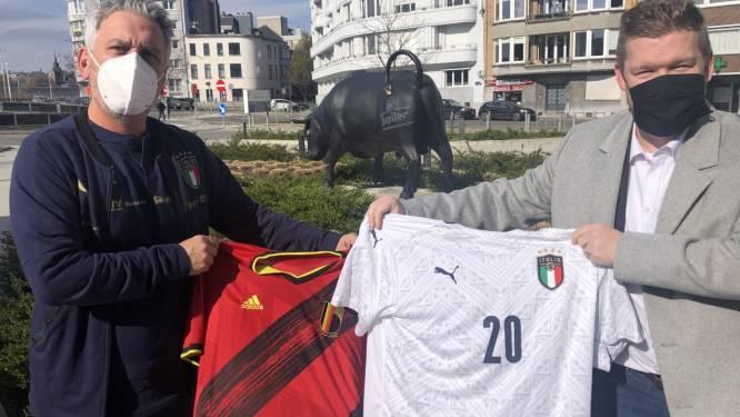 """Italiaanse bondscoach Massimiliano Bellarte even terug in ons land: """"Fijn weerzien met oude bekenden"""""""