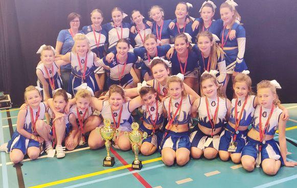 De Blue Angels, Shadows en Devils op het Belgisch Kampioenschap.