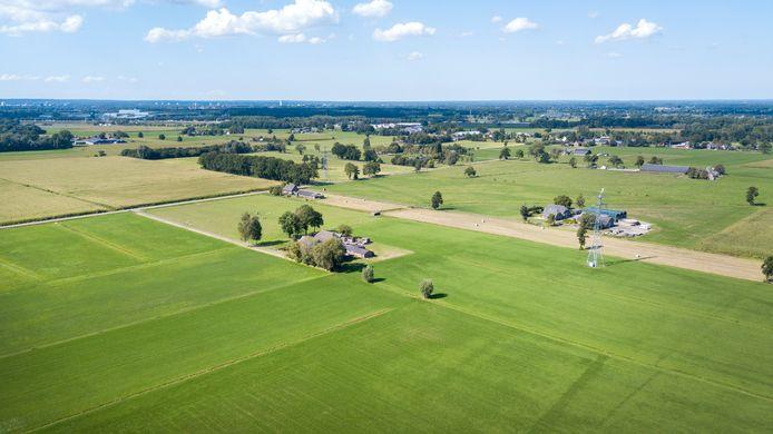 Boerenlandschap bij Klarenbeek.