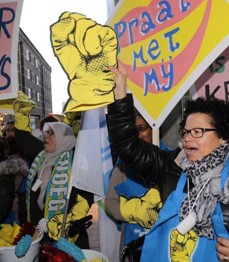 De 'onmisbaren' verdienen beter: in Breda start campagne voor zorg, vuilnisophalers en schoonmakers