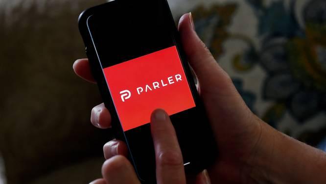"""Omstreden app Parler keert niet terug in App Store Apple: """" Geen plaats voor haatdragend, racistisch en discriminerend materiaal"""""""