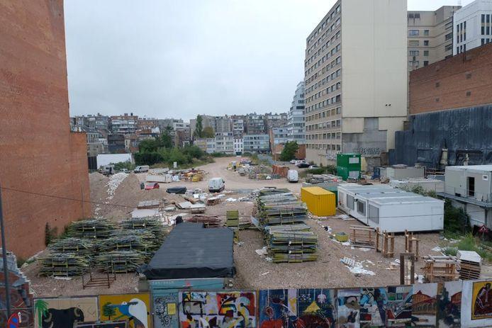 De 'stadskanker' aan de Pelikaanstraat. De stad keurde het ontwerp van het RUP goed en legt het nu voor aan de gemeenteraad.