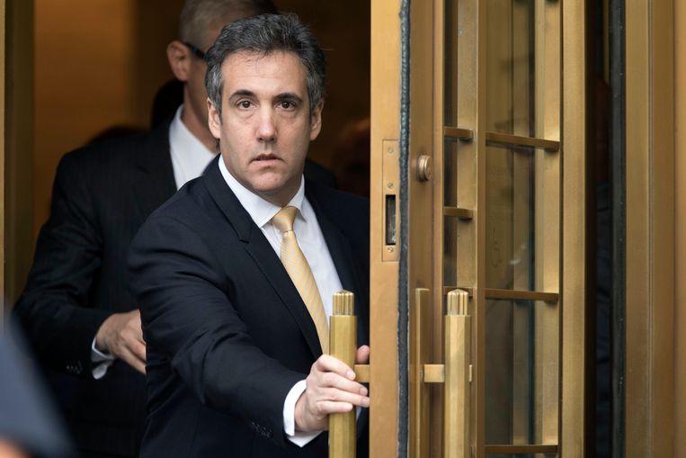 Michael Cohen, de gewezen advocaat van Donald Trump. Beeld AP