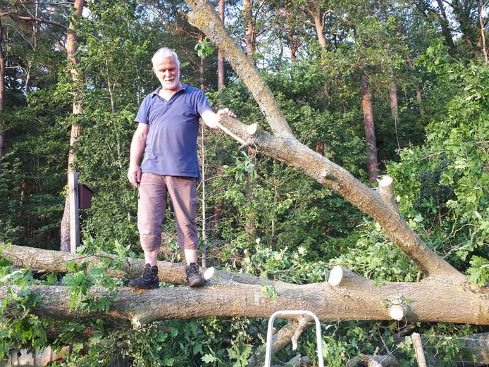 Wie moet deze omgevallen boom eigenlijk verwijderen?