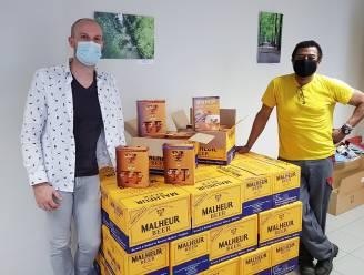 Alweer fijne attentie voor bewoners en personeel Herfstdroom: Brouwerij De Landtsheer trakteert