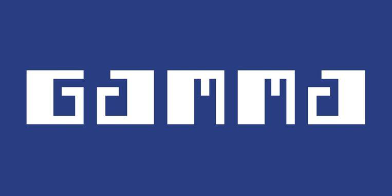 Het logo van zelfbouwmarkt Gamma. Beeld rv