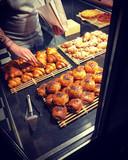 De boterkoeken worden ter plaatse en vers bereid