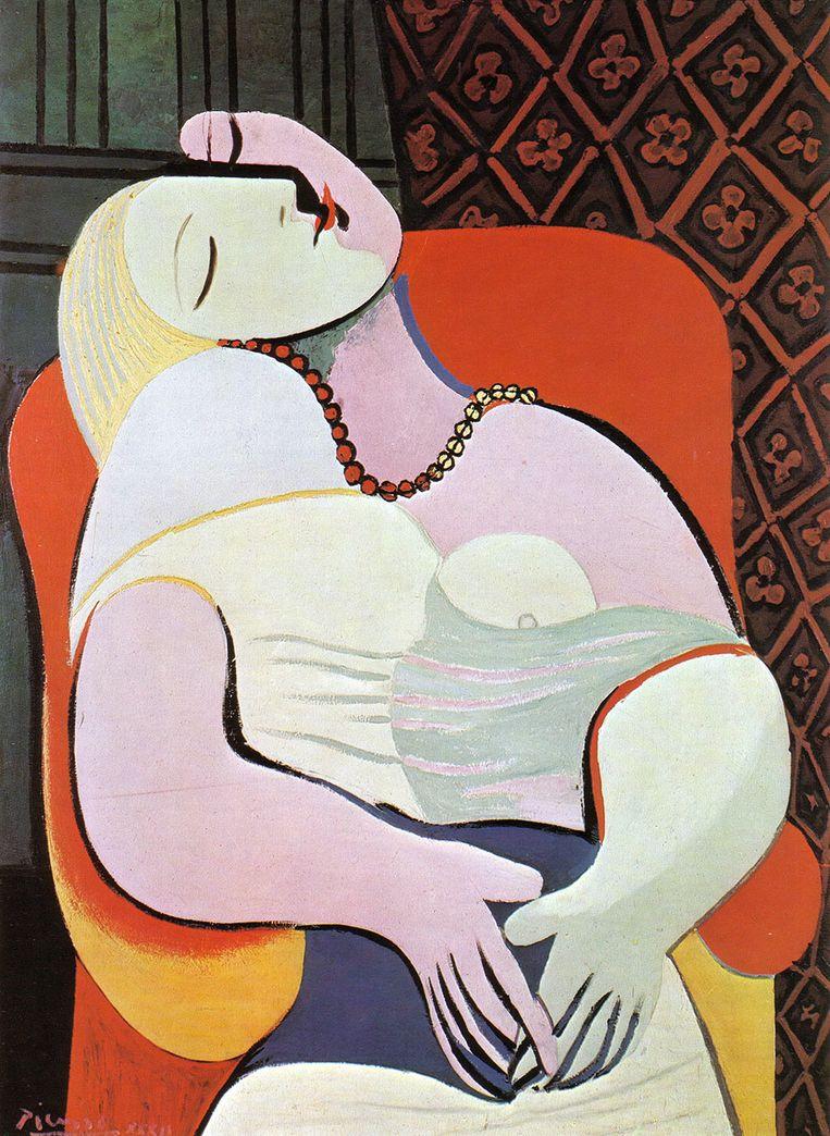 'Le Rêve' van Pablo Picasso. Beeld rv