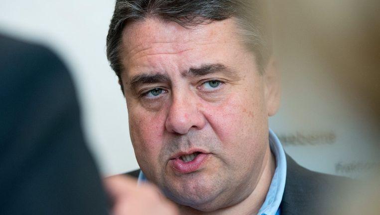 SPD-leider Sigmar Gabriel Beeld ANP