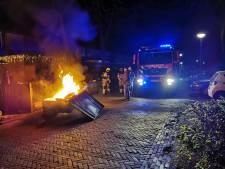 Brand in aanhanger wijkt af van reeks Wageningse autobranden