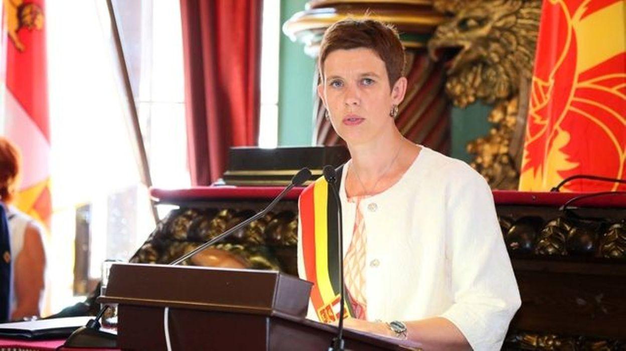 Catherine Delcourt, gouverneur f.f. de la Province de Liège.
