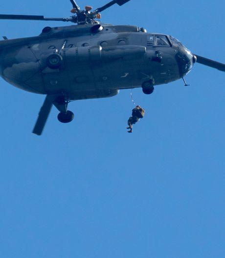 Militaire oefening in Meppel en omgeving