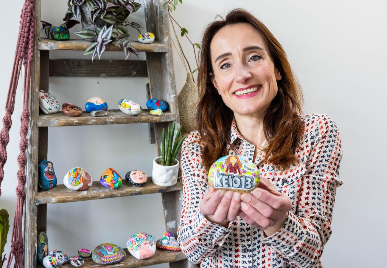 Yvonne Pijnenburg, oprichtster van de Facebookgroep Kei013 die inmiddels 1100 leden telt.