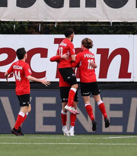 Moedig Helmond Sport knokt zich knap naar zwaarbevochten zege op titelkandidaat Almere City